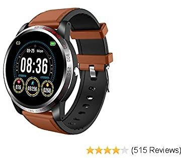 NiceFuse Smart Watch, Fitness Tracker Health Watch with Heart Rate Blood Oxygen Monitor, Multiple Sport Modes, Waterproof Activity Tracker Smartwatches with Sleep Monitor