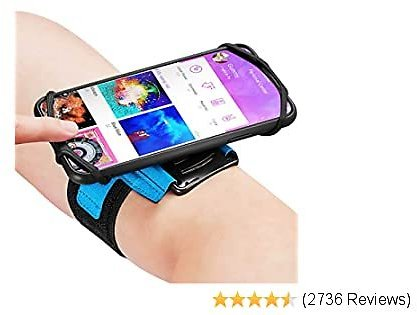 Newppon Sports Cellphone Arm Bands : with Key Pocket Holder & 180° Rotatable for Apple IPhone 11 Pro Max Xs XR X 8 7 6 6S Plus Samsung Galaxy S9+ S9 S8 Edge Note 8 Google Pixel LG,for Outdoor Gym