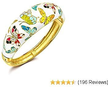 Handcrafted Bangle with Enamel Craft