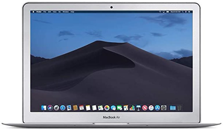 Apple MacBook Air 13-inch Laptop 1.4GHz Core I5/8GB RAM 256SSD OS X Catalina- Refurbished, Excellent Condition