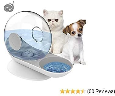 EXTRA 50% OFF Water Dispenser Dogs Cats Small Pets 50Gravity Waterer Feeder Bowl Automatic