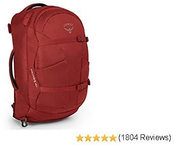 Osprey Farpoint 40 Men's Travel Backpack - RED