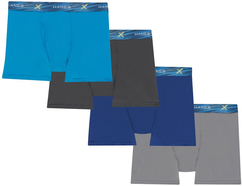 3+1 Bonus Packmate Men's UltiMen's Ultimate X-Temp Air Boxer Brief,