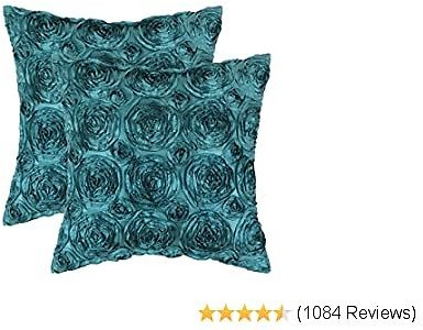 Pack of 2 Cushion Covers Throw Pillow Cases