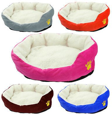 Warm Small Dog Bed for Pet Puppy Kitten Pet Bed Cushion Dog Cat Soft Mat