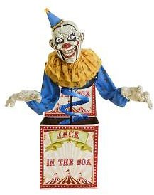 6-ft. Animated LED Jack-in-the-Box