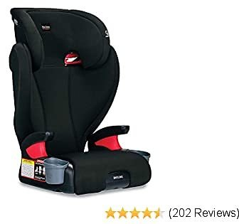 Britax Skyline 2-Stage Belt-Positioning Booster Car Seat - Highback and Backless | 2 Layer Impact Protection - 40 to 120 Pounds, Dusk