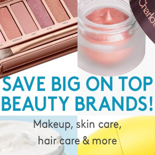 Up To 80% Off Select Top Beauty Brands Makeup, Skin Care, Hair Care, &  More!