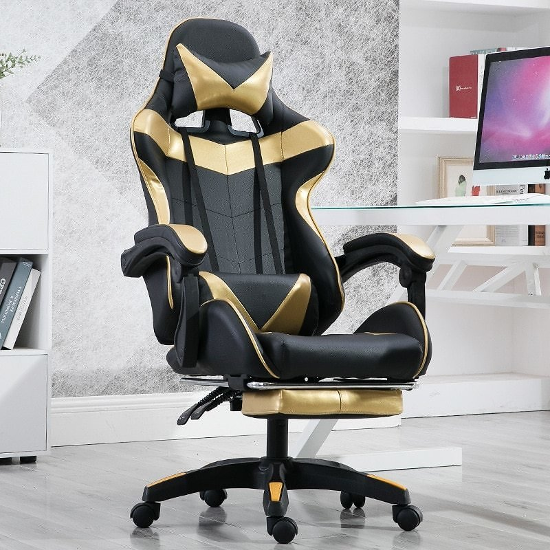 US $175.88 29% OFF|Gaming Chair Wcg Game Seat Internet Cafe Competitive LOL Office Computer Chair Anchor Home Recliner Adjustable Chair|Office Chairs| - AliExpress