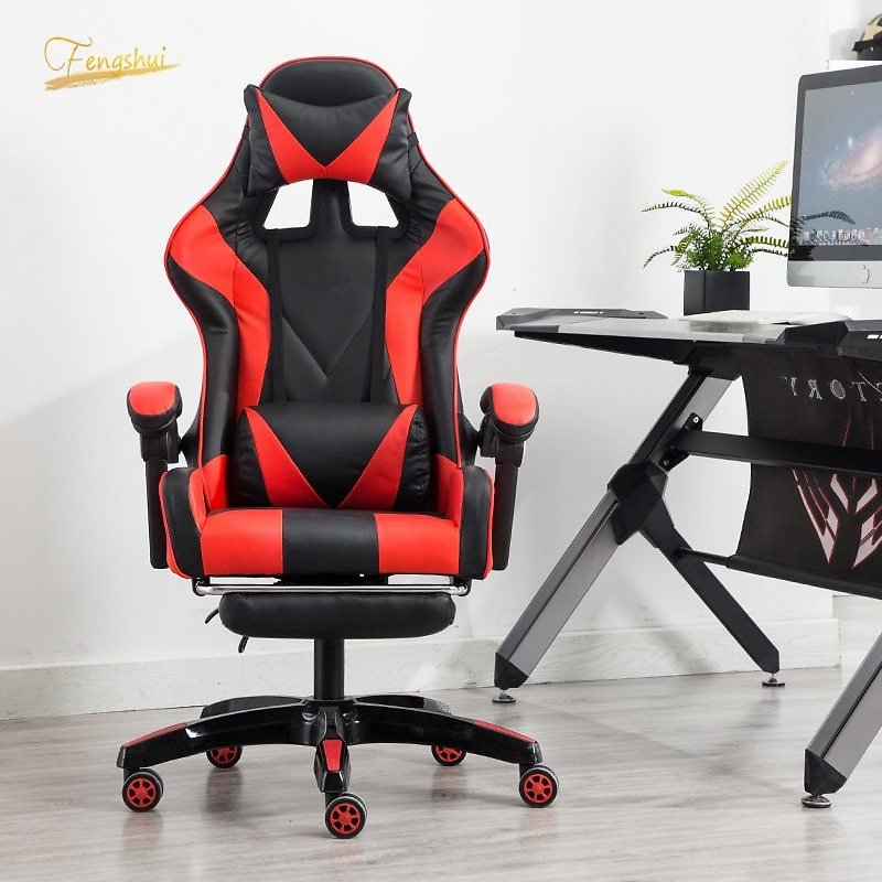 US $177.48 49% OFF Professional Computer Gaming Chair DNF LOL Internet Cafes Sports Racing Armchair Chair WCG Play Gaming Lounge Chair Office Chair Office Chairs  - AliExpress