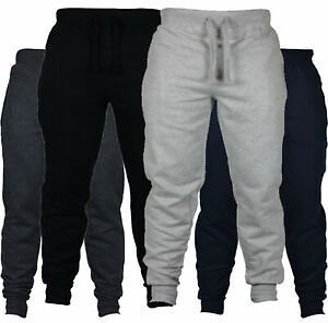 Mens Casual Sport Bottom Pants Tracksuit Fitness Joggers Trousers Gym Sweatpants