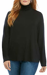 THE LIMITED Plus Size Long Sleeve Turtleneck