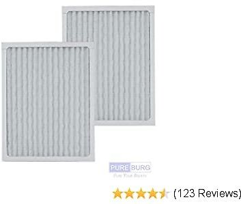 PUREBURG 2-Pack Replacement HEPA Air Filters Compatible with Hunter HEPAtech 30920 Fits 30050 30054 30055 30065 30070 30071 30075 30080 30177 30832 30882 30883 37055 37065 Air Purifiers