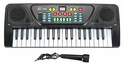 Electronic Keyboard Beginners 37 Key Piano Musical Instrument Microphone For Kid 696977283180
