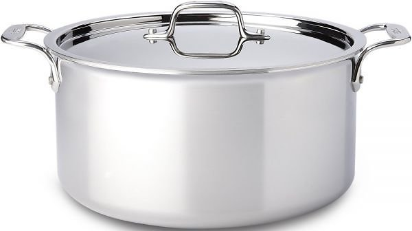 8-Qt. Stockpot W/Lid / Stainless - Second Quality
