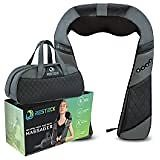 Naipo Back Massager with Adjustable Heat and Straps, Shiatsu Neck Massagers for Neck and Back, Shoulder, Foot and Legs, OCuddle™ Series Electric Massager, Gift for Women, Friends, Birthday: Health & Personal Care