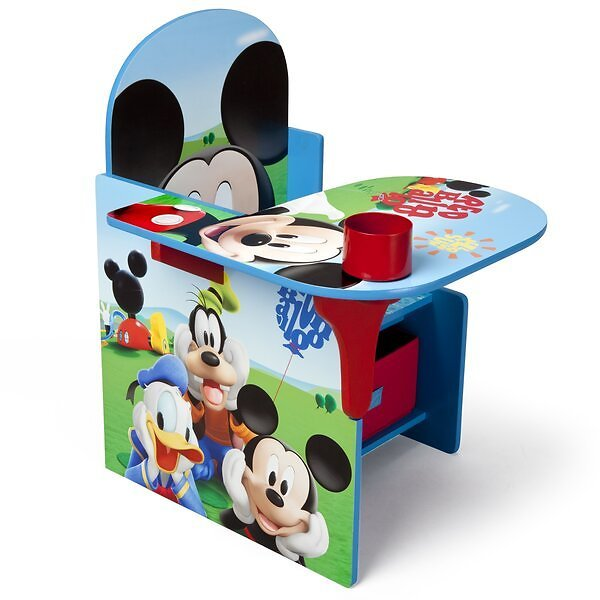 Mickey Mouse Kids Study Desk and Chair Set