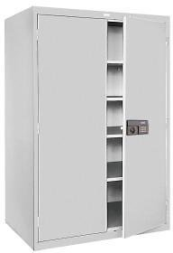 Sandusky 5-Shelf Steel Keyless Electronic Coded Storage Cabinet