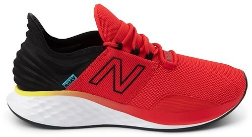Mens New Balance Fresh Foam Roav Athletic Shoe - Red / Black