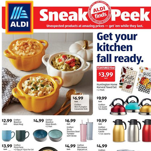 ALDI Weekly Finds (09/23)