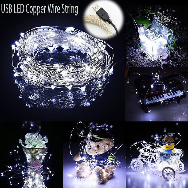 US $0.89 45% OFF 1M 5M 10M 100 LEDS Starry String Battery Lights Fairy Micro LED Transparent Copper Wire for Party Christmas Wedding 6 Colors Lighting Strings  - AliExpress