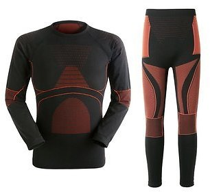 Mens Warm Breathable Thermal Quick Dry Tight Elastic Underwear Winter Outdoor Sport SuitActivewearfromMen's Clothingon Banggood.com