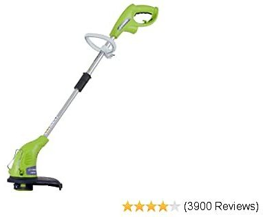 40% OFF Greenworks 13-Inch 4 Amp Electric Corded String Trimmer 21212