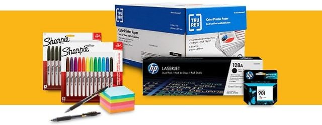 In-Store Only! 40% Back in Rewards On Ink & Toner with Your Office or School Supplies Purchase of $50 or More
