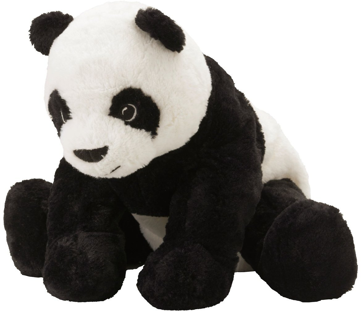 Ikea Sale KRAMIG Soft Toy, White/black