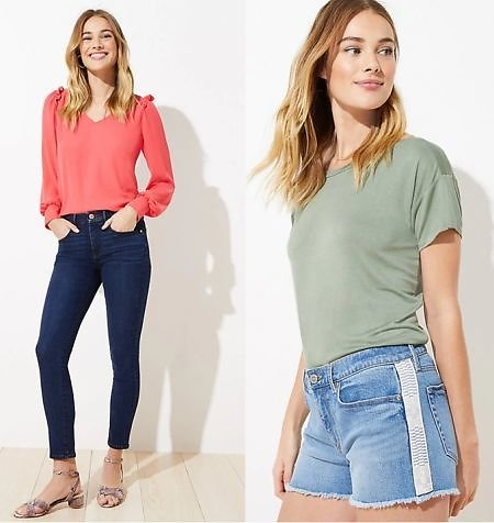 Today Only! $9.94+  Women's Denim Jeans and Shorts (Mult. Styles)