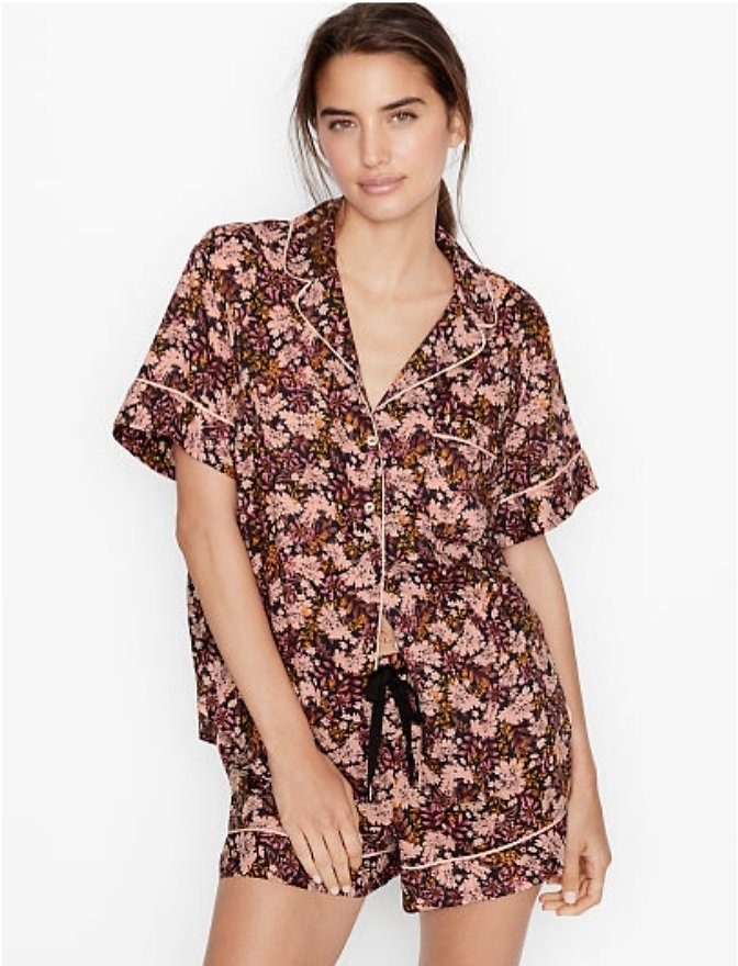 Cotton Short PJ Set - Victoria's Secret - Vs