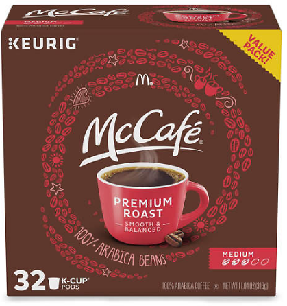 McCafe Premium Medium Roast 32-Pack Brew Cups - Big Lots