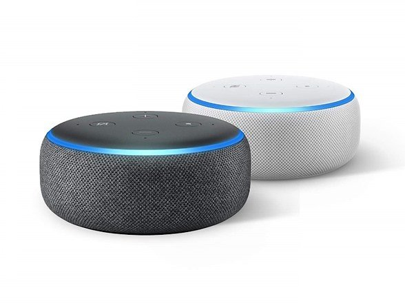 $24.99 Amazon Echo Dot 3rd Gen Smart Speaker W/Alexa