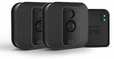 Blink XT2 Indoor/Outdoor Wi-Fi Wire Free 1080p Security Camera - 2 Camera Kit 841667168692