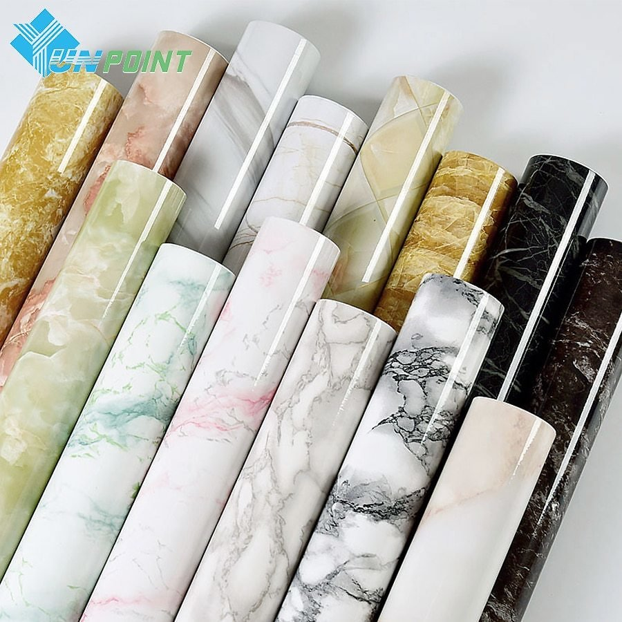 US $4.98 30% OFF|Self Adhesive Marble Vinyl Wallpaper Roll Furniture Decorative Film Waterproof Wall Stickers for Kitchen Backsplash Home Decor|stickers for Kitchen|waterproof Wall Stickerwall Stickers for Kitchen - AliExpress