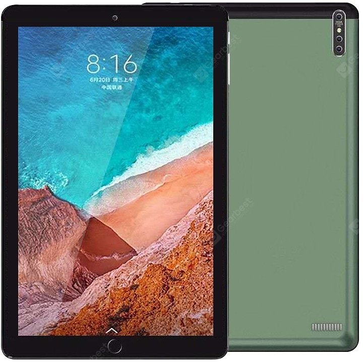 NEW 2020 3G/4G Phone Call Android 9.0 Tablet 10.1 Inch Tablet Pc Octa Core 32GB 64GB ROM Bluetooth Wi-Fi 2.5D Steel Screen Table