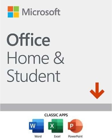 Microsoft Office Home & Student (2019) + 15-Month Norton 360