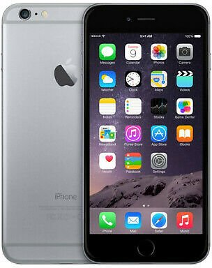 Apple IPhone 6s Plus 64GB Verizon GSM Unlocked T-Mobile AT&T 4G LTE - Space Gray