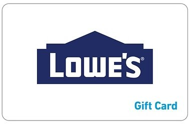$50 Lowe's eGift Card for $45