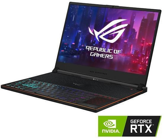 ASUS ROG Zephyrus 15.6-in FHD Gaming Laptop w/Core i7