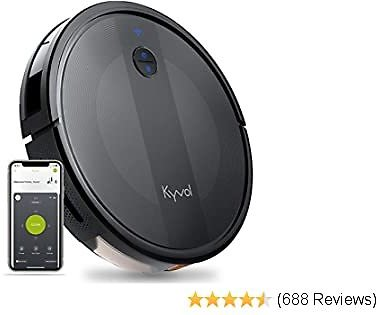 EXTRA 60% OFF E20 Robot Vacuum Cleaner, 2000Pa Suction, 150 Min Runtime, Boundary Strips Included