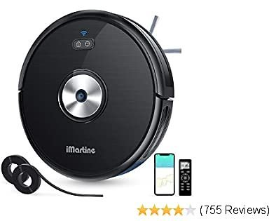 Robot Vacuum Cleaner Slim, Wi-Fi Connected, Compatible with Alexa $99.99+FS