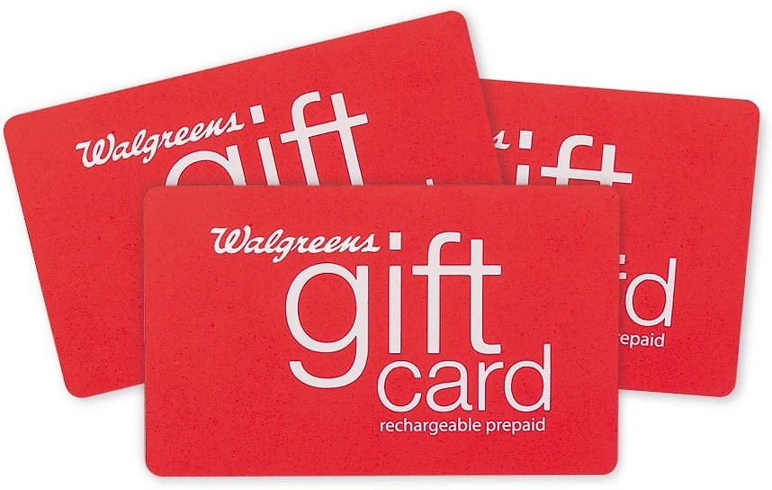 Free $10 Walgreens Gift Card w/ 2 Gift Cards