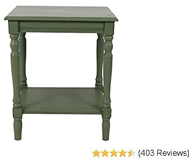 Décor Therapy Simplify End Table, Green