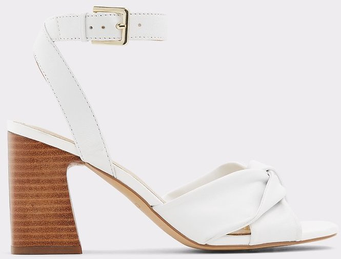 Laevia White Women's Block Heels | ALDO US