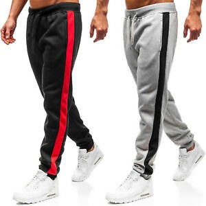 Men Casual Fitness Workout Joggers Sweatpants Pants Sport Long Trousers