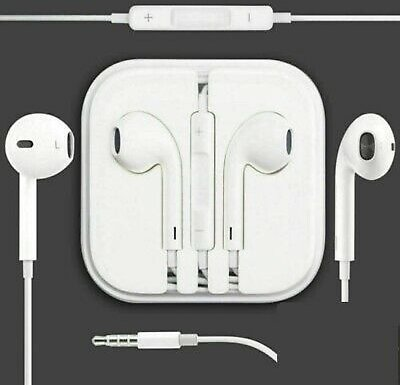 Headphones Earphones Handsfree With Mic for Apple IPhone 5s 6 6s Plus Ipad 3.5MM