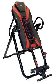 Health Gear 6.9 Deluxe Inversion Table With Removeable Full Back Heat and Massage Pad - Sam's Club