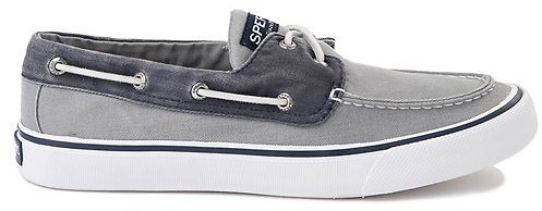 Mens Sperry Top-Sider Bahama Casual Shoe - Gray / Navy