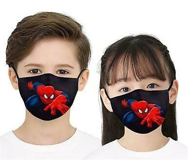 Kids Funny Washable Face Mask Half Face Mouth Mark HipHop Cospaly Party One Size